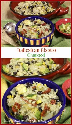 Italiexican Risotto Chopped  The Kitchen Chopper