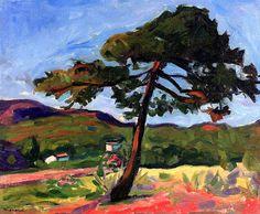Pine, St. Tropez / Albert Marquet - circa 1906