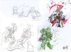 Bulk - Sketches 1 by Shla-K