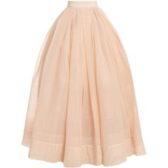 MARTIN GRANT 29 Long Tulle Ball Skirt (£3,460) ❤ liked on Polyvore featuring skirts, bottoms, faldas, saias, pink maxi skirt, long pink maxi skirt, pink layered skirt, layered tulle skirt and pink skirt