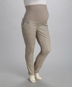 Take a look at this Stone Wash Over-Belly Maternity Pants by Oh! Mamma on #zulily today!