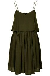 Cut-Out Crinkle Overlay Sundress.From TOP SHOP for $68.00