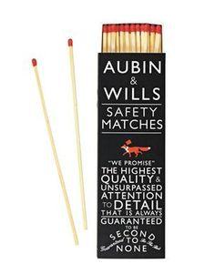 Aubin & Wills safety matches