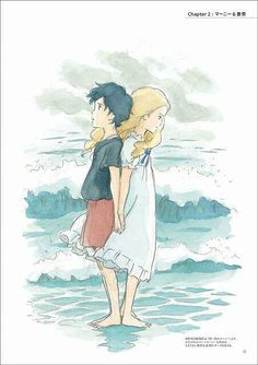 When Marnie was there, I saw this it was really sad though, but over all it was a good movie, you should see it.