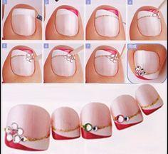 25 Mejores Imágenes De Uñas De Los Pies Bonitas Pretty Nails Cute