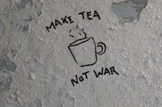 tea, war, and grunge Bild