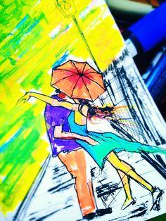 #love #rain #summer