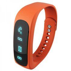 Un bracelet intelligent avec la fonctionnalité bluetooth et podomètre. Idéal pour les mamans sportives