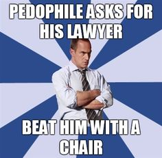Lol Law & Order SVU it's so true