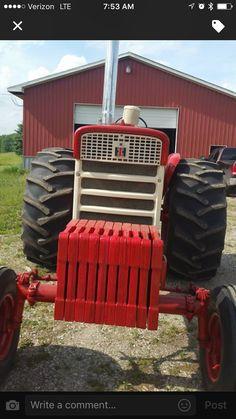 International Tractors, Farmall Tractors, Classic Tractor, Monster Trucks, Red