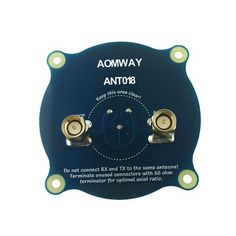 Aomway ANT018 Triple Feed Patch-1 5.8G 8dBi RHCP/LHCP FPV Pagoda Antenna SMA/RP-SMA Male