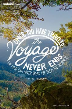 The voyage never ends!