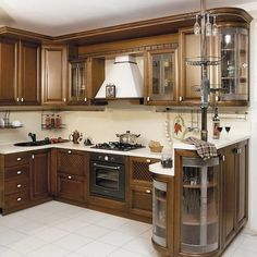 The Biggest Myth About Butterscotch Glazed Kitchen Cabinets Exposed - flipsyourhome Kitchen Sink Design, Kitchen Cupboard Designs, Kitchen Cabinet Styles, Modern Kitchen Design, Interior Design Kitchen, Glazed Kitchen Cabinets, Kitchen Cabinets Decor, Home Decor Kitchen, Cuisines Design