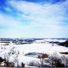 A winter scene captured at the scenic overlook in Galena. #GetToGalena  @allisgreen on Instagram