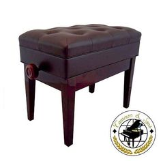 "Cameron & Sons CS-12 MAHP Deluxe Adjustable Piano Bench (Polished Mahogany) by Cameron & Sons. $124.95. Cameron & Sons CS-12 MAHP Deluxe Adjustable Piano Bench (Polished Mahogany) with Music Storage, dimensions: 22.5"" long, 13.5"" deep and adjusts from 19'' to 22'' inches in height. The padded faux leather top is fully upholstered and finished with classic style buttons. It weights about 30 pounds. Ideal compliment to any upright piano or grand, baby grand piano. Quick..."
