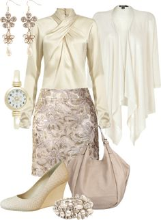 """""""Winter White"""" by featherlynne on Polyvore"""