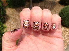 Fierce fall nails by me!