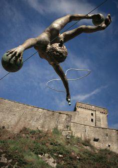 Jerzy Kedziora - Balancing Sculptures