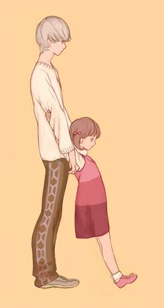 They might be cousins but they are the best siblings. Persona 4 Yu and Nanako