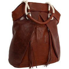 I absolutely love this bag, it seems almost nautical yet western at the same time. :)