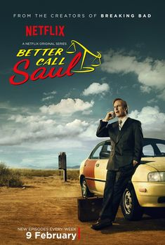 'Better Call Saul' (2015) by Vince Gilligan and Peter Gould. 4 episodes in via Netflix - has it's own identity away from 'Breaking Bad' but so far hasn't packed the punch.