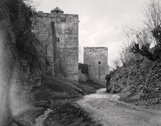 Cuesta de Los Chinos, Torre de las Infantas  y Torre de la Cautiva, 1920.