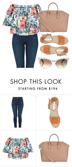 """""""Sin título #25"""" by sarai-almaguer on Polyvore featuring moda, J Brand, See by Chloé, Elizabeth and James, Givenchy y Gucci"""