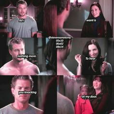 - slexie parallels, when lexie knocked on marks door (he was wearing the same shirt in the first and in the last scene) - Slexie or omelia? Greys Anatomy Derek, Greys Anatomy Facts, Grey Anatomy Quotes, Grays Anatomy, Mark Sloan, She Is Gorgeous, Beautiful Day, Grey's Anatomy Lexie, Lexie And Mark
