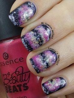 Galaxy's #nailartfeb - Leonie's Nailart