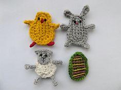Two Little C's: 10 Crochet Patterns for Easter