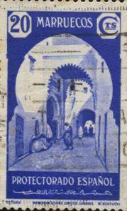 Sello Protectorado español en Marruecos | Flickr: Intercambio de fotos