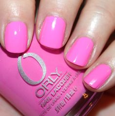 Orly Fancy Fuchsia!!  Perfect neon pink for summer!!