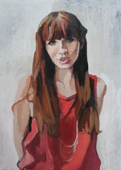 "Saatchi Online Artist: Erin Fitzpatrick; Oil, 2008, Painting ""Jonna"""
