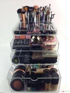 Ideas como organizar tu maquillaje
