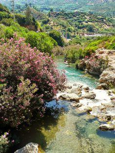 Oued Farda à Akchour / région de chefchaouen