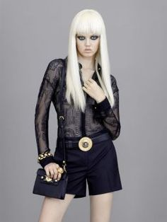 Cute! Women's fashion and accessories - SS 2013 - Main collection - Versace 2013