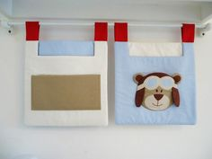 Porta Treco - Coleção Urso aviador