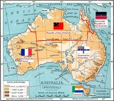 AH challenge: Balkanised Australia - Alternate History Discussion Board Historical Maps, Historical Pictures, Malayan Emergency, What Is Search Engine, Imaginary Maps, Aboriginal History, Australian Continent, Australia Map, Fantasy Map