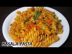 Masala pasta recipe | Indian style Pasta recipe | Spicy masala pasta | Spiral pasta - YouTube