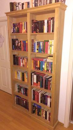 Bücherregal selber bauen bauanleitung  AllesohneKabel (gntergltling) auf Pinterest