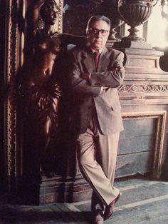 Antonio José Alés en el famoso Palacio de Linares de Madrid...