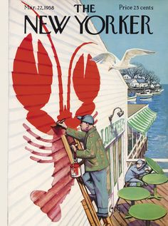 The New Yorker - Saturday, March 22, 1958 - Issue # 1727 - Vol. 34 - N° 5 - Cover by : Arthur Getz