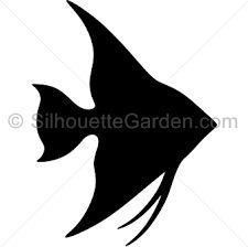 figuras siluetas simples pez - Buscar con Google