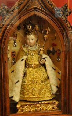 «Le petit Roi de Grâce»  Œuvre provenant du Carmel d'Autun