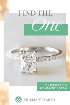 Our engagement rings are handcrafted from recycled precious metals and set with  Beyond Conflict Free Diamonds™ and ethical gemstones. Shop our collection of diamond engagement rings.