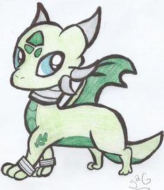 Dragon Chibi Drawing