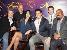 Meet Adam Jacobs, Courtney Reed & the cast of ALADDIN on Broadway