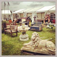 Reclamation Warriors and Gary Wallis Antiques are regular exhibitors a the Salvo Fair