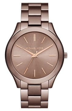 Michael Kors 'Slim Runway' Bracelet Watch, 42mm available at #Nordstrom