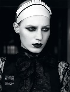 Julia Nobis by Armin Morbach for Tush, Fall 2011 #fashion #editorial